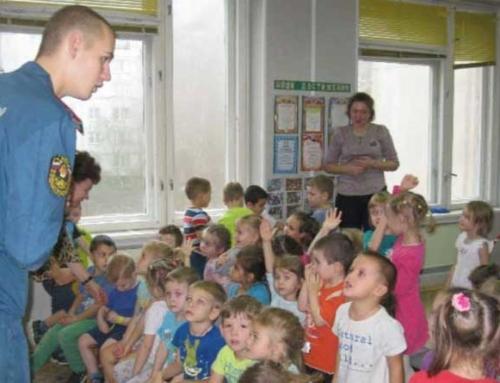 Занятия с воспитанниками МАДОУ «Буратино»
